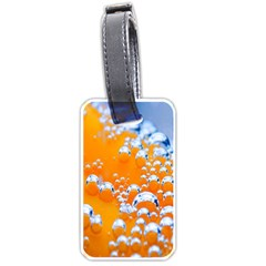 Bubbles Background Luggage Tags (one Side)
