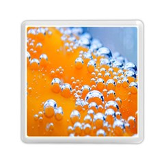 Bubbles Background Memory Card Reader (square)