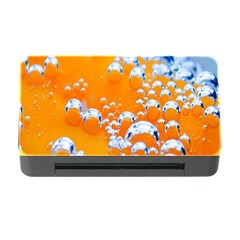 Bubbles Background Memory Card Reader With Cf