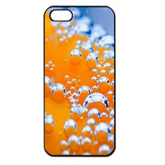 Bubbles Background Apple iPhone 5 Seamless Case (Black)