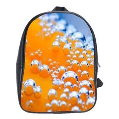 Bubbles Background School Bags (xl)