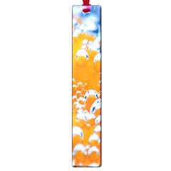Bubbles Background Large Book Marks