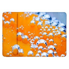 Bubbles Background Samsung Galaxy Tab 8.9  P7300 Flip Case