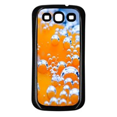 Bubbles Background Samsung Galaxy S3 Back Case (black)