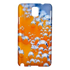 Bubbles Background Samsung Galaxy Note 3 N9005 Hardshell Case