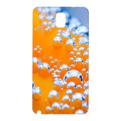 Bubbles Background Samsung Galaxy Note 3 N9005 Hardshell Back Case