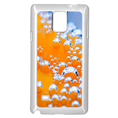 Bubbles Background Samsung Galaxy Note 4 Case (white)