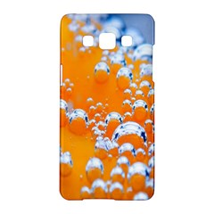Bubbles Background Samsung Galaxy A5 Hardshell Case