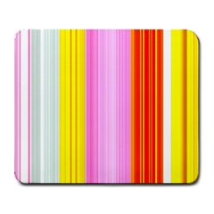 Multi Colored Bright Stripes Striped Background Wallpaper Large Mousepads