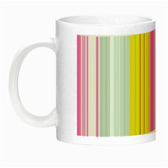 Multi Colored Bright Stripes Striped Background Wallpaper Night Luminous Mugs