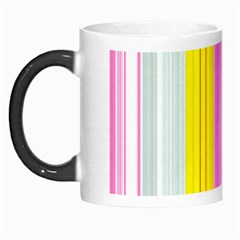 Multi Colored Bright Stripes Striped Background Wallpaper Morph Mugs