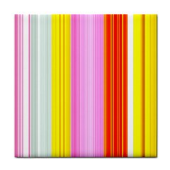 Multi Colored Bright Stripes Striped Background Wallpaper Face Towel