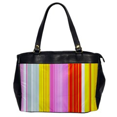 Multi Colored Bright Stripes Striped Background Wallpaper Office Handbags