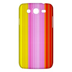Multi Colored Bright Stripes Striped Background Wallpaper Samsung Galaxy Mega 5 8 I9152 Hardshell Case