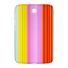Multi Colored Bright Stripes Striped Background Wallpaper Samsung Galaxy Note 8 0 N5100 Hardshell Case