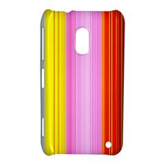 Multi Colored Bright Stripes Striped Background Wallpaper Nokia Lumia 620