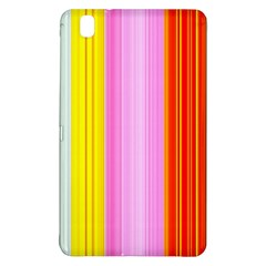 Multi Colored Bright Stripes Striped Background Wallpaper Samsung Galaxy Tab Pro 8 4 Hardshell Case