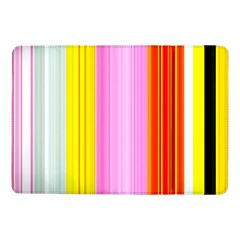 Multi Colored Bright Stripes Striped Background Wallpaper Samsung Galaxy Tab Pro 10.1  Flip Case