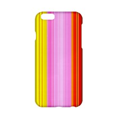 Multi Colored Bright Stripes Striped Background Wallpaper Apple Iphone 6/6s Hardshell Case