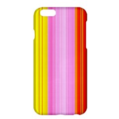 Multi Colored Bright Stripes Striped Background Wallpaper Apple Iphone 6 Plus/6s Plus Hardshell Case