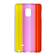 Multi Colored Bright Stripes Striped Background Wallpaper Galaxy Note Edge