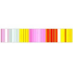 Multi Colored Bright Stripes Striped Background Wallpaper Flano Scarf (Large)
