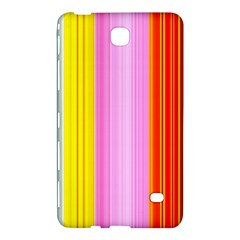Multi Colored Bright Stripes Striped Background Wallpaper Samsung Galaxy Tab 4 (8 ) Hardshell Case