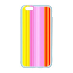 Multi Colored Bright Stripes Striped Background Wallpaper Apple Seamless iPhone 6/6S Case (Color)