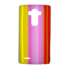 Multi Colored Bright Stripes Striped Background Wallpaper Lg G4 Hardshell Case