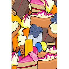 Sweet Stuff Digitally Created Sweet Food Wallpaper 5 5  X 8 5  Notebooks