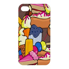 Sweet Stuff Digitally Created Sweet Food Wallpaper Apple Iphone 4/4s Hardshell Case