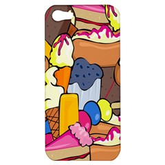 Sweet Stuff Digitally Created Sweet Food Wallpaper Apple Iphone 5 Hardshell Case