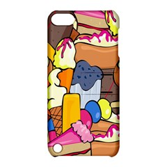 Sweet Stuff Digitally Created Sweet Food Wallpaper Apple Ipod Touch 5 Hardshell Case With Stand