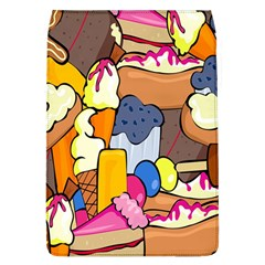 Sweet Stuff Digitally Created Sweet Food Wallpaper Flap Covers (l)