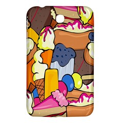 Sweet Stuff Digitally Created Sweet Food Wallpaper Samsung Galaxy Tab 3 (7 ) P3200 Hardshell Case