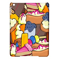 Sweet Stuff Digitally Created Sweet Food Wallpaper Ipad Air Hardshell Cases