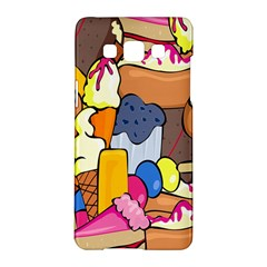 Sweet Stuff Digitally Created Sweet Food Wallpaper Samsung Galaxy A5 Hardshell Case