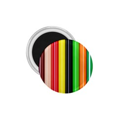 Colorful Striped Background Wallpaper Pattern 1.75  Magnets