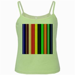 Colorful Striped Background Wallpaper Pattern Green Spaghetti Tank