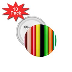 Colorful Striped Background Wallpaper Pattern 1 75  Buttons (10 Pack)