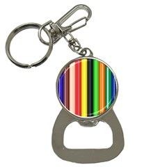 Colorful Striped Background Wallpaper Pattern Button Necklaces