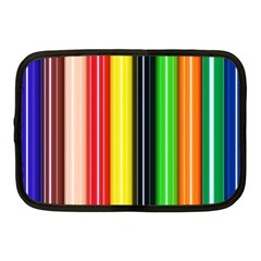 Colorful Striped Background Wallpaper Pattern Netbook Case (medium)