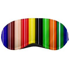 Colorful Striped Background Wallpaper Pattern Sleeping Masks