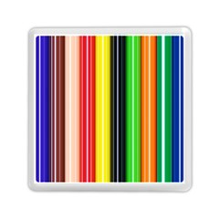 Colorful Striped Background Wallpaper Pattern Memory Card Reader (square)