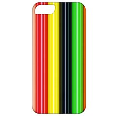 Colorful Striped Background Wallpaper Pattern Apple iPhone 5 Classic Hardshell Case