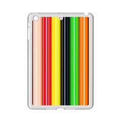Colorful Striped Background Wallpaper Pattern Ipad Mini 2 Enamel Coated Cases