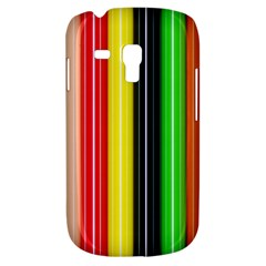 Colorful Striped Background Wallpaper Pattern Galaxy S3 Mini