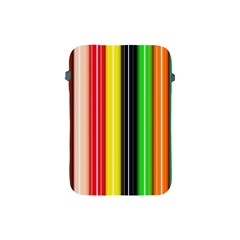 Colorful Striped Background Wallpaper Pattern Apple Ipad Mini Protective Soft Cases
