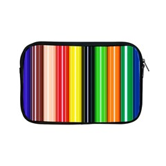 Colorful Striped Background Wallpaper Pattern Apple Ipad Mini Zipper Cases