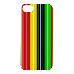 Colorful Striped Background Wallpaper Pattern Apple Iphone 5s/ Se Hardshell Case
